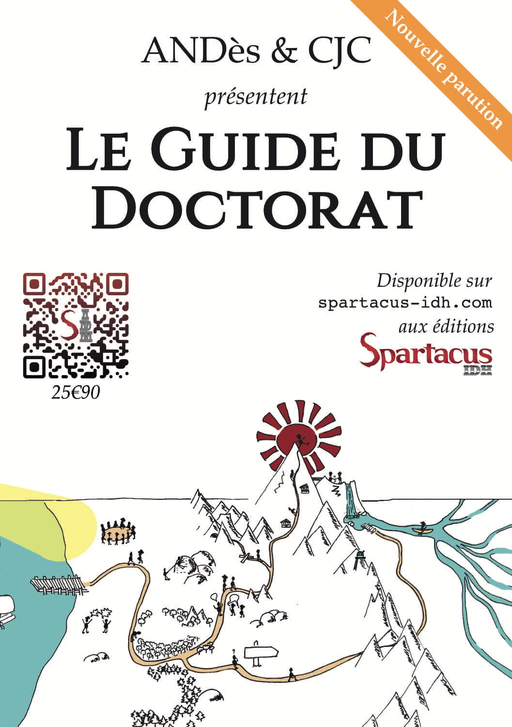 Flyer du Guide du Doctorat